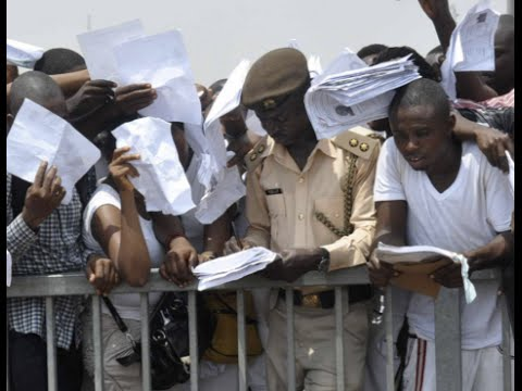 Nigeria Youth Unemployment: Number of jobless youth grows as economy plummets