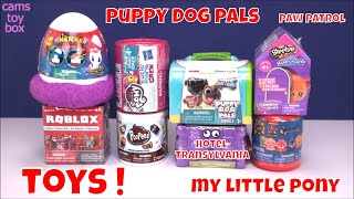 Surprise Toys Unboxing Puppy DOG PALS Shopkins My Little PONY Roblox Hotel Translyvania Toy