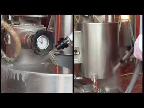 Industrial food cleaning with IBIX blasting system and baking soda