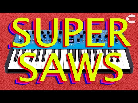Making HUGE Super Saw Sounds w/ the Modal Cobalt8