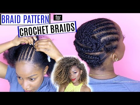 How to Braid Your Hair for Crochet Braids