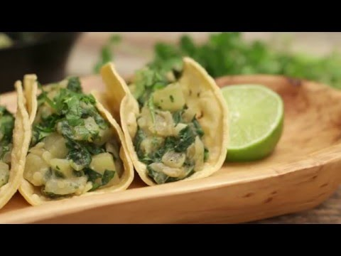 Spinach and Potato Tacos Recipe - Forks Over Knives