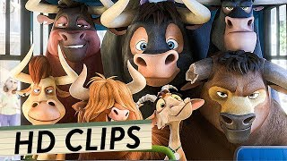 FERDINAND Alle Filmclips + alle Trailer Deutsch German (HD) | Animation 2017