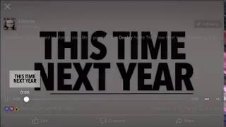 THIS TIME NEXT YEAR- coming to LIFETIME tv 12/16/18- Jennifer Hiles
