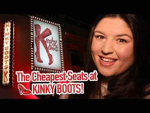 The CHEAPEST Seats at KINKY BOOTS (London West End) 👠 REVIEW