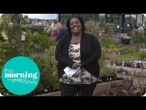 Alison Hammond Gets the Giggles When She Visits a Garden Centre | This Morning
