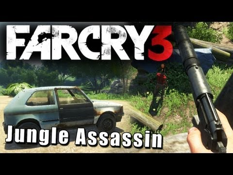 Far Cry 3 - Jungle Assassin - Stealth Gameplay