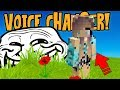 USING VOICE CHANGER TO TROLL A MODERATOR Trolling Server Mods mp3