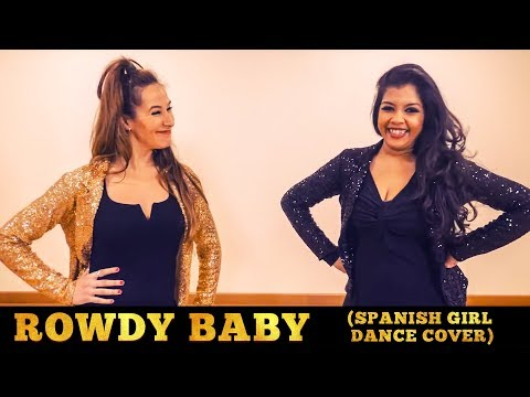 Rowdy Baby (Spanish Girl Dance Cover) | Vinatha's Dance Studio | Maari 2