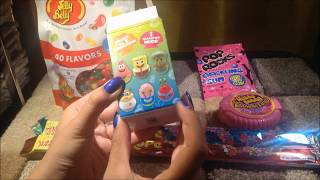 ASMR whisper: Eating Nostalgic Candy