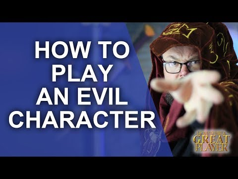 GREAT PC: How To Play An Evil Character In A RPG