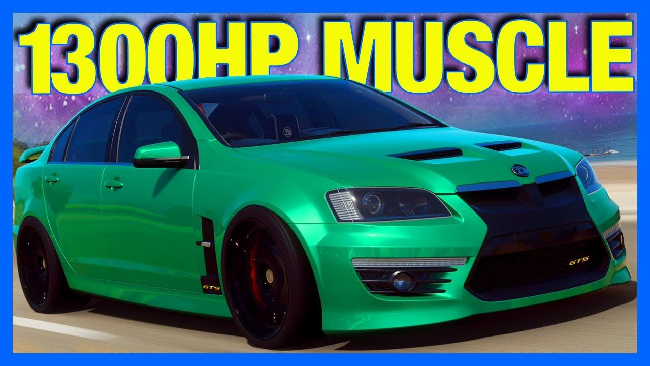 Forza Horizon 4 : 1300 Horsepower Australian Muscle!! (FH4 Holden HSV GTS) thumbnail
