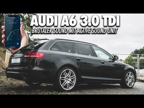 BRUTALER SOUND DANK SOUNDGENERATOR - Audi A6 3.0 TDI | Active Soundmodul - Cete Automotive