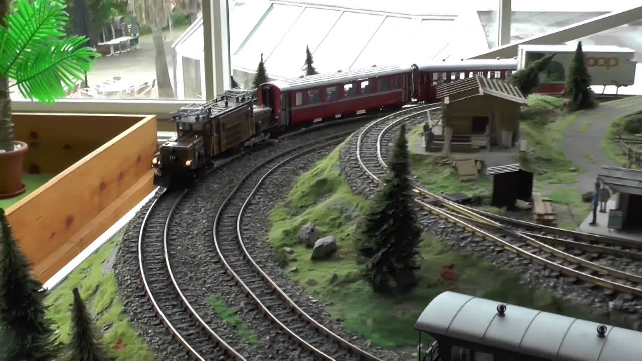 Lgb Layout Switzerland Into Gruga Essen  Youtube