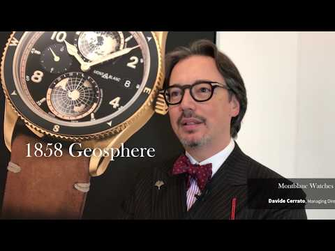 SIHH 2018 - DNA Interview with Davide Cerrato, Managing Director Of Montblanc Watch Division