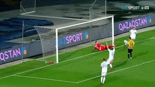 Обзор матча. Лига Европы УЕФА. 1-й раунд. «Кайрат» - НОА - 4:1