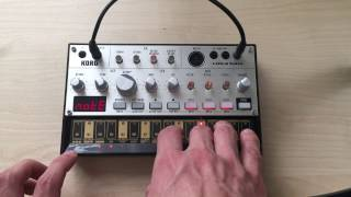 Korg Volca Bass Demo Retro