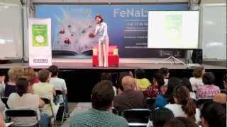 """Gaby Vargas presenta su libro """"Conéctate"""" en la FeNaL 2012"""