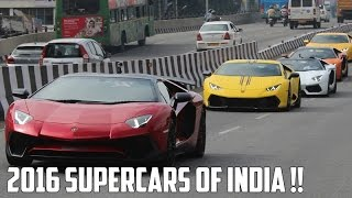 Supercars in India 2016 | #86