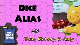 Dice Alias Review - with Tom Vasel