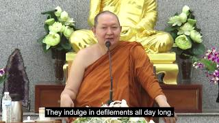 """Wisdom is Knowing the Truth of Body and Mind"" Dhamma talk"
