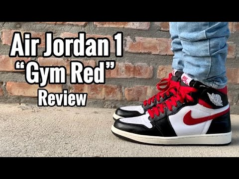 "air-jordan-1-""gym-red""-review-&-on-feet"