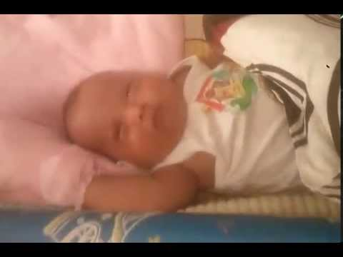 My Son's sleeping
