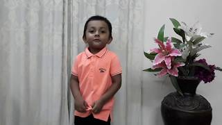 Learing ABC and Twinkle Twinkle By Abyan Baby