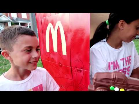 Mcdonalds Cooking Food Truck Toy Compilation