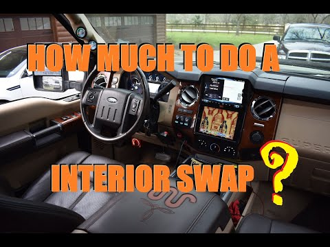 How Much Does It Cost To Do Interior Swap