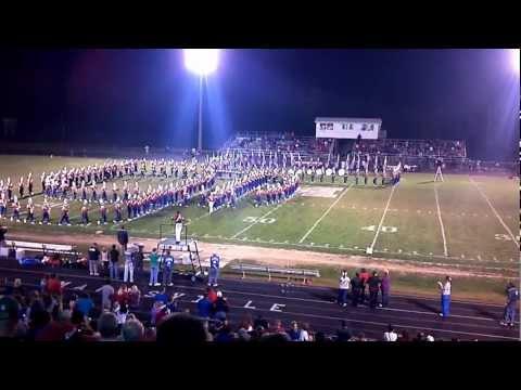 Marysville High School Band Homecoming 2011 Script Ohio
