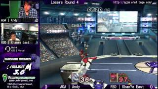 SG at GU 8.1: AOA | Andy (Wolf, Diddy Kong) vs. RBD | Khanye East (Lucario)
