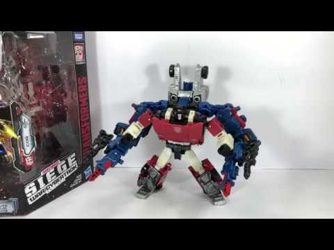Transformers Generations War for Cybertron Siege Deluxe Class Cog Weaponizer