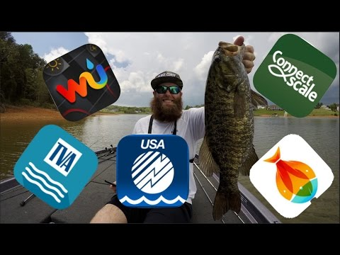 Apps I Use For Fishing!