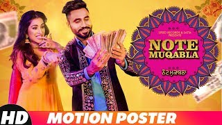 Motion Poster | Note Muqabla | Goldy Desi Crew Ft Gurlej Akhtar | Releasing On 2 Nov 2018