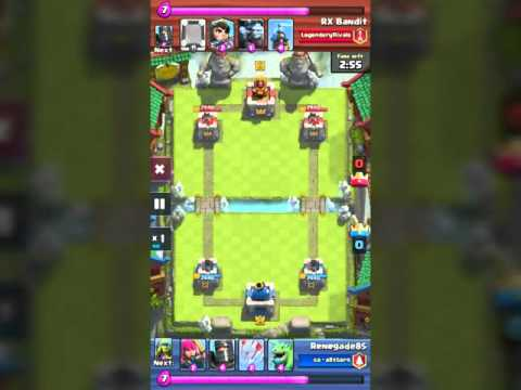 Clash Royale # Arena 8 - YouTube