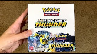 LOST THUNDER POKEMON BOOSTER BOX OPENING!!