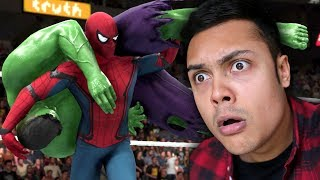 SPIDERMAN VS THE HULK (WWE 2K18)