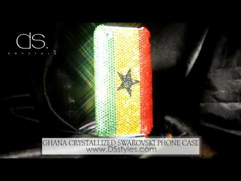 World Cup Crystallized Swarovski Phone Case - Ghana from dsstyles.com