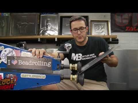 Bead Roller Hem Roll Demonstrations - with Jamey Jordan