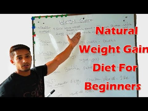 Full day Natural Diet Plan to Gain Weight for Beginners! (English/Urdu/Hindi)