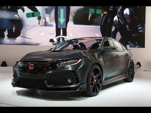 2018 Honda Civic Type R Prototype First Look - 2016 Paris Motor Show
