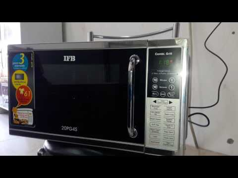 How to use ifb microwave  model 20pg4s full demo