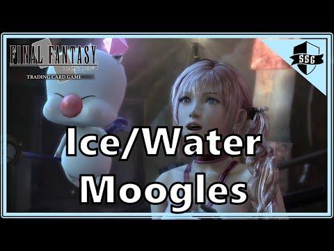 Ice/Water Moogles - Final Fantasy TCG