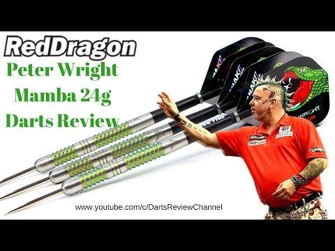 Red Dragon Peter Wright Mamba 24g darts review