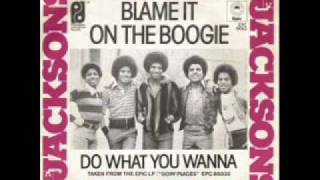 The Jacksons Blame It On The Boogie (Dance Remix)