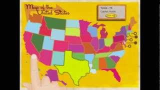 Learn the States - USA Capital and Geography Fact Learning iPad App