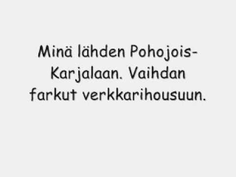 Leevi And The Leavings - Pohjois-Karjala lyrics