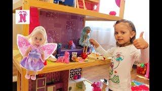 Будиночок для ляльок з ЦУКЕРКАМИ чарівництво для дітей doll House Іграшки для дівчаток