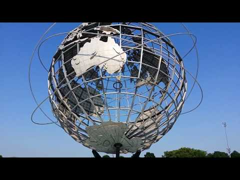 BIG GLOBE US OPEN QUEENS NY (fountain Off)